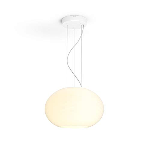 Philips Hue Flourish White & Color Ambiance Smart Pendant Lamp, Compatible with Alexa (Requires Hue Hub)