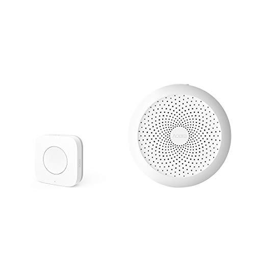 Aqara Zigbee Button Plus Aqara Hub, Zigbee Connection, Versatile 3-Way Control Button for Smart Home Devices, Compatible with Apple HomeKit