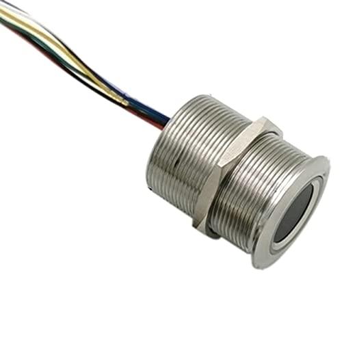 Lysee 3D Printer Parts & Accessories - R503 Circular Round Ring Indicator LED Control DC3.3V MX1.0-6Pin Capacitive Fingerprint Module Sensor Scanner - (Color: 32mm)