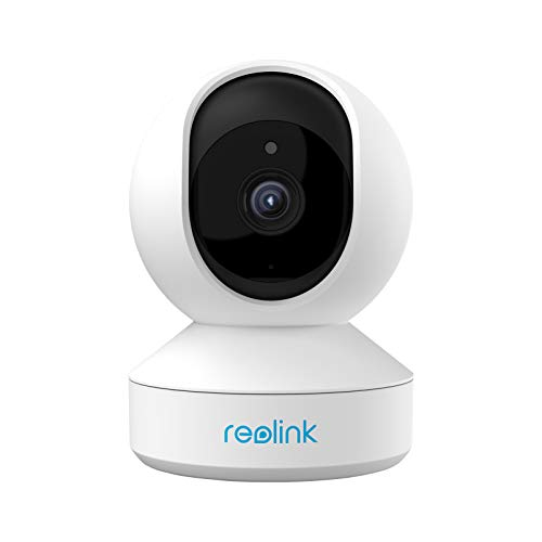 Indoor Security Camera, Reolink 5MP Super HD Plug-in WiFi Camera with Pan Tilt Zoom/ Motion Alerts, Ideal for Baby Monitor/ Pet Camera/Home Security, Dual Band WiFi, Multiple Storage Options, E1 Zoom