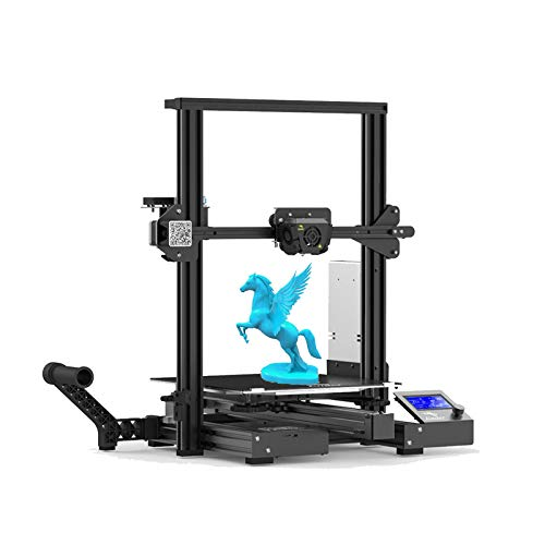 Creality Ender 3 Max 3D Printe Upgraded All Metal FDM 3D Printer with Silent Mainboard Meanwell Power Supply Carborundum Glass Bed Large Print Size 300 x 300 x 340mm