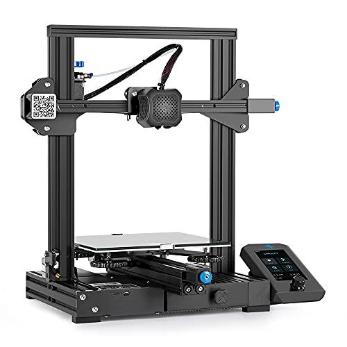 Official Creality Ender 3 V2 Upgraded 3D Printer Integrated Structure Design with Carborundum Glass Platform Silent...