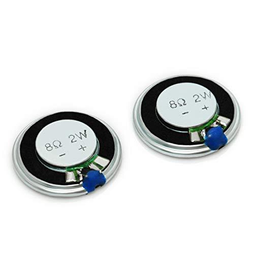 Gikfun Round Micro Speaker Diameter 28mm 8Ohm 8R 2W for Arduino (Pack of 2pcs) AE1054