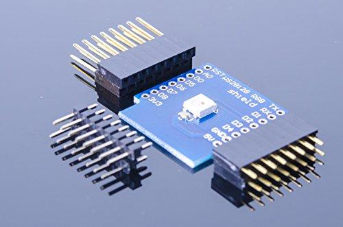 WS2812B RGB LED shield