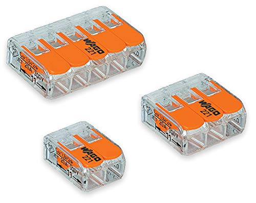 WAGO lever-nuts connectors