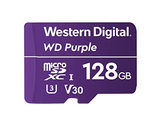 Western Digital WDD128G1P0A WD Purple 128 GB MicroSDXC
