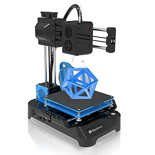 NantFun DIY 3D Printer for Kids, Mini 3D Printer for Beginners, Upgraded Extruder Technology Small 3D Printer Fast...