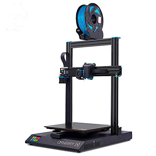 Artillery Sidewinder X1 3D Printer V4 Newest 95% Pre-Assembled 300x300x400 Model with Dual Z Axis Ultra-Quiet Printing 0.4mm Direct Drive Extruder Filament Runout Detection and Recovery