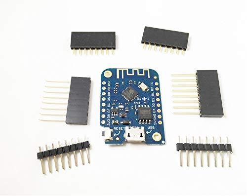 D1 Mini V3.1.0 WiFi IoT Development Board MicroPython Nodemcu Arduino Compatible (D1 Mini V3.1.0)