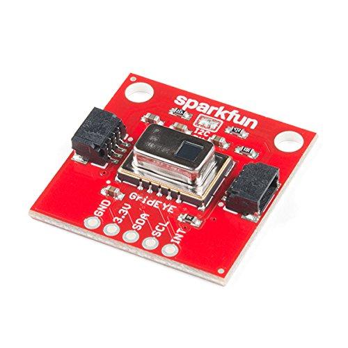 SparkFun Grid-EYE Infrared Array Breakout - AMG8833 (Qwiic)