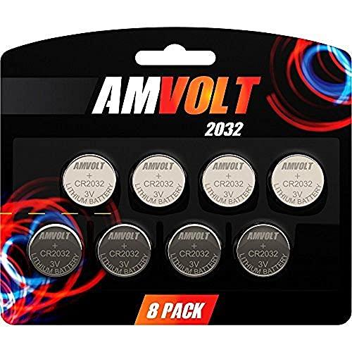 AmVolt 15-Pack CR2032 Battery