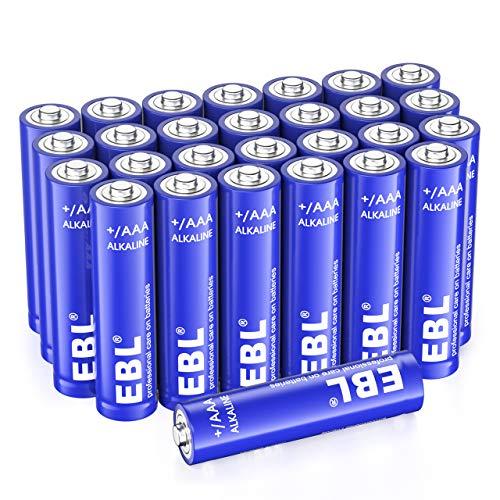 EBL AAA Alkaline Batteries 28-Pack