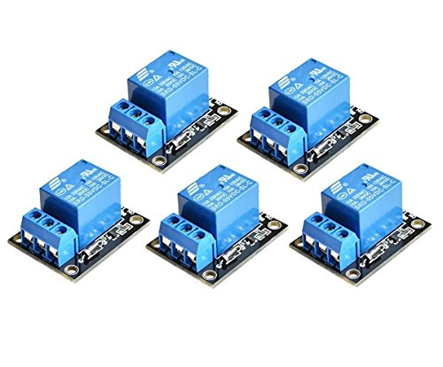 ARCELI 5PCS KY-019 5V One Channel Relay Module Board Shield for PIC AVR DSP ARM for Relay