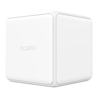 The Aqara Cube is a Zigbee device that can be integrated with Home Assistant.