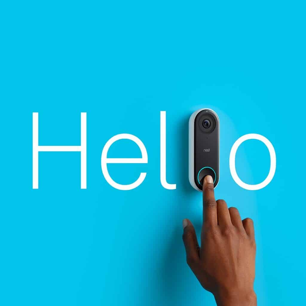 The Google Nest Hello Video Doorbell works with Home Assistant