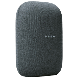 A Google Nest Audio integrated with Home Assistant