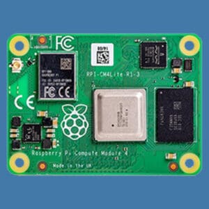 The Raspberry Pi Compute Module 4, which now works with Home Assistant
