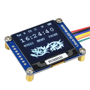 The SSD1327 display for ESPHome