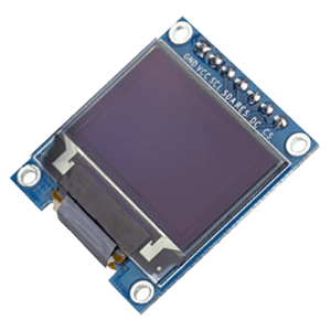 The SSD1331 display for ESPHome
