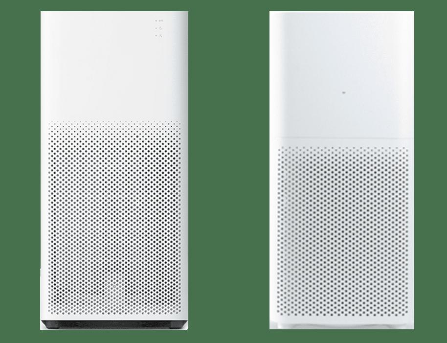 The Xiaomi Mi Air Purifier 2 compared to the Mi Air Purifier 2C