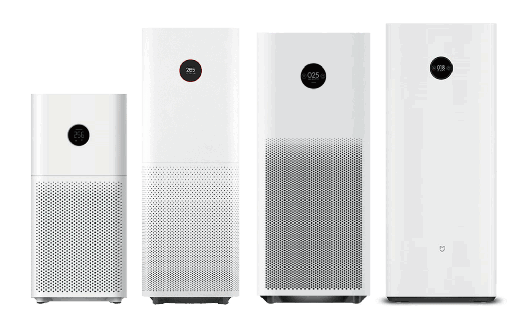 The Xiaomi Mi Air Purifier 3C, Pro, Pro H, and MAX