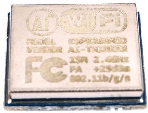 The front of the Ai-Thinker ESP-06
