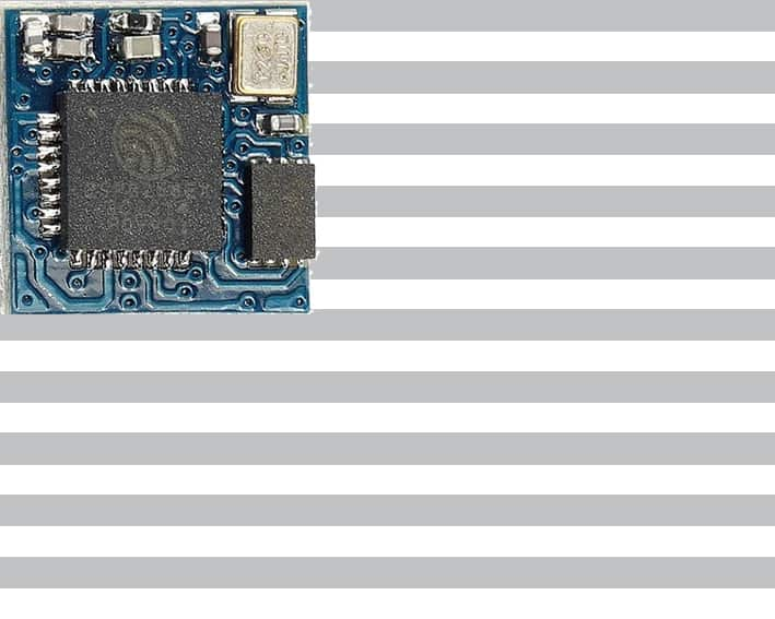 The ESP-09 module with an ESP8266 from Ai-Thinker