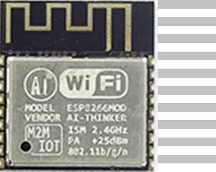 The ESP-13 module with an ESP8266 from Ai-Thinker