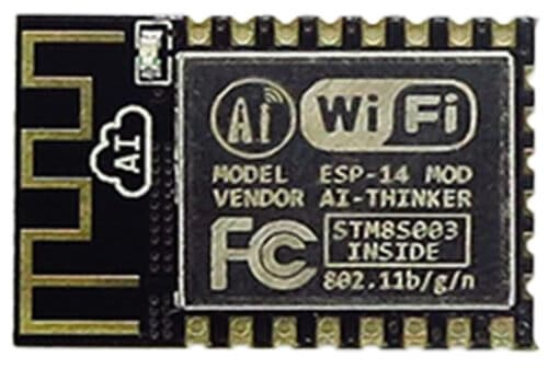 The ESP-14 module with an STM8S003 inside