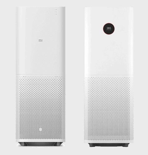 The original Xiaomi Mi Air Purifier compared to the Xiaomi Mi Air Purifier Pro
