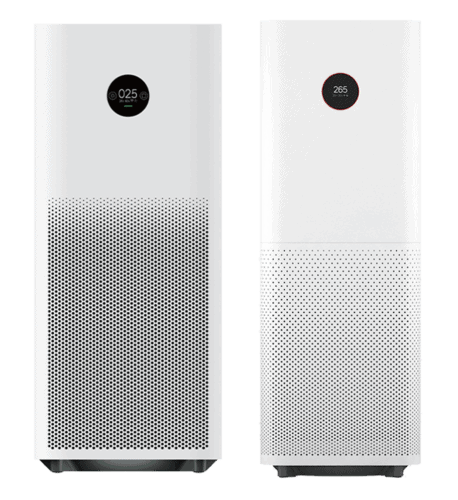The Xiaomi Mi Air Purifier Pro H compared to the Xiaomi Mi Air Purifier Pro