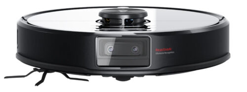 The vision system on the Roborock S6 MaxV featuring two cameras