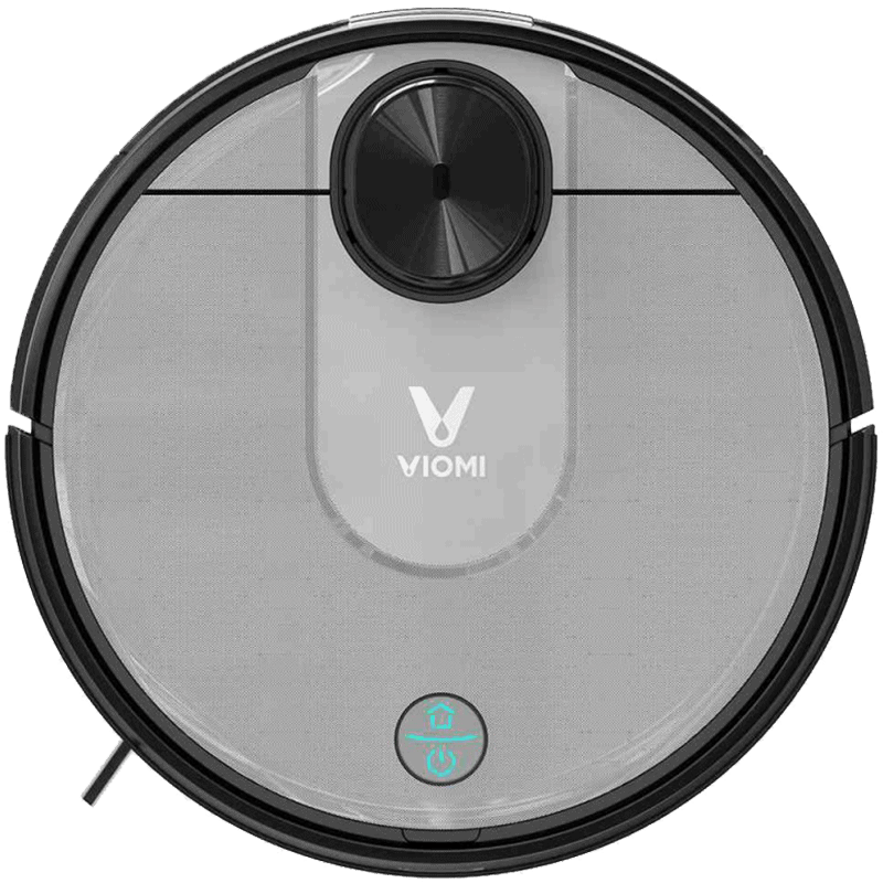 The Viomi V2 robot vacuum cleaner from above