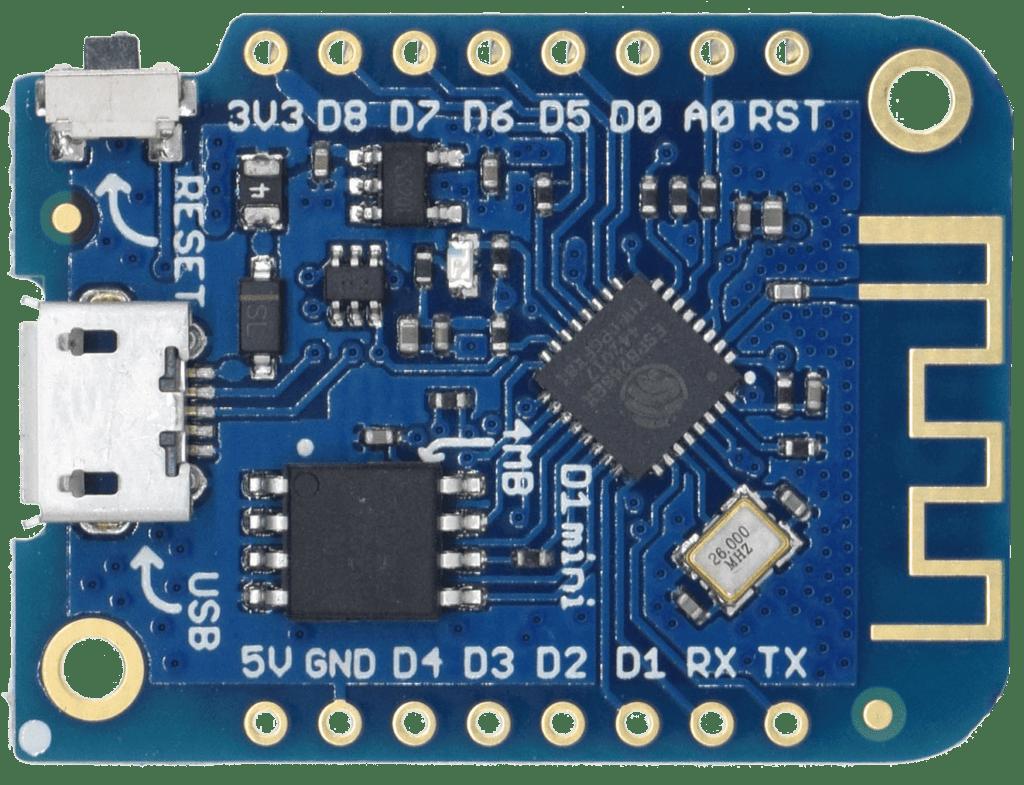 A more recent LOLIN D1 mini ESP8266 board