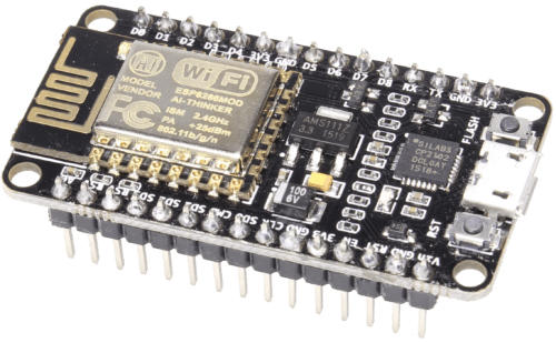 GPIO pins on an ESP8266 NodeMCU that can be used by ESPHome.