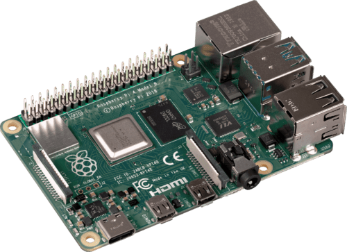 GPIO pins on a Raspberry Pi